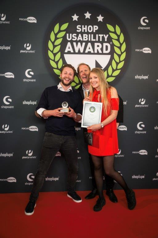 Shop-Usability Award 2018_Kommerz Design Agentur des Jahres 2